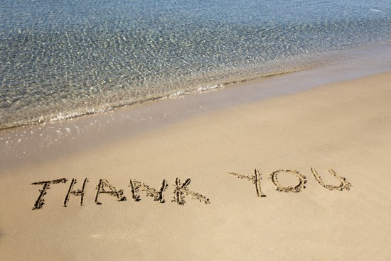 lettera di ringraziamento